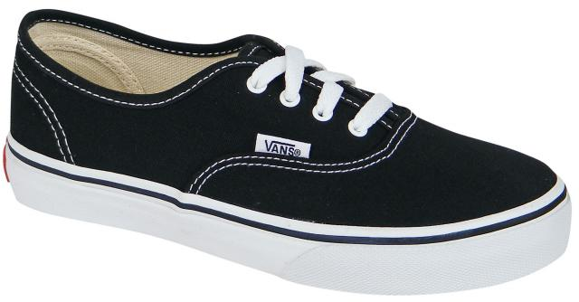 Vans Kid's Authentic Shoe - Black