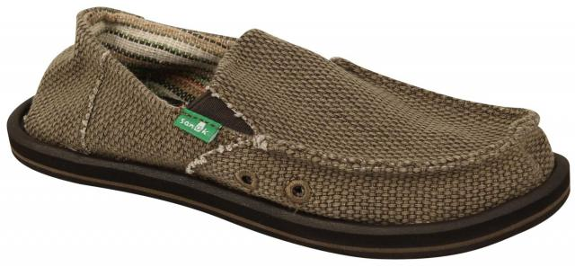 Sanuk Boy's Vagabond Sidewalk Surfer - Brown