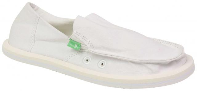 Sanuk Girl's Lil Donna Sidewalk Surfer - White