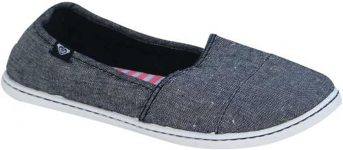 Roxy Pier Shoe - Black Chambray