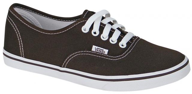 b0dffb44a2 Vans Authentic Lo Pro Women s Shoe - Espresso   True White For Sale ...