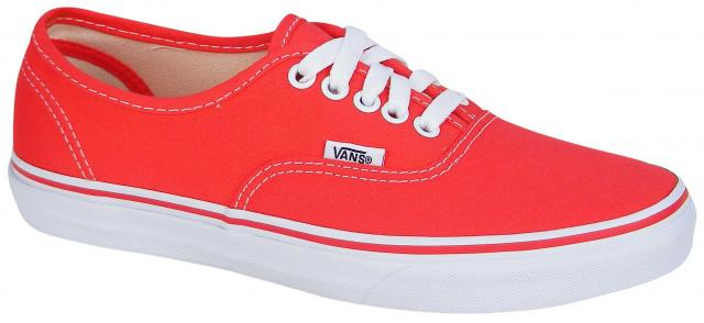 e52cdac78b60 Vans Authentic Women s Shoe - Hibiscus   True White For Sale at ...