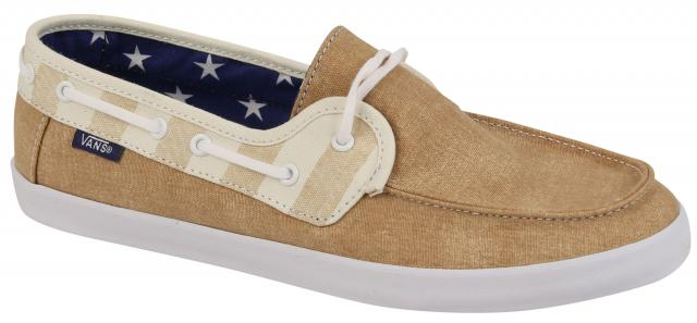 Vans Chauffette Women's Shoe - Tan / Marshmallow