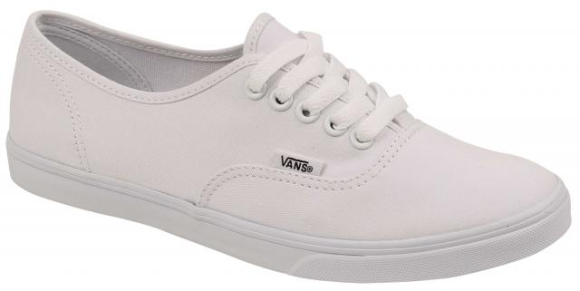 Vans Authentic Lo Pro Women's Shoe - True White / True White