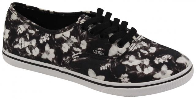 f925b6a1273 Vans Authentic Lo Pro Women s Shoe - Blurred Floral   Black   True White ...