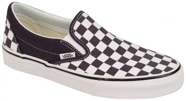 a27aaef84aa7 Vans Classic Slip On Women s Shoe - Checkerboard Nightshade   True White ...