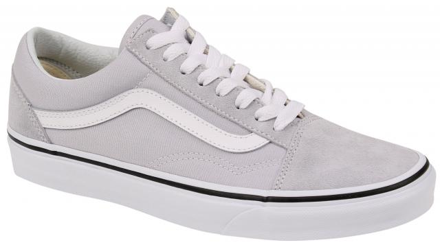 cb62de18b70d Vans Old Skool Women s Shoe - Grey Dawn   True White For Sale at  Surfboards.com (4614464)