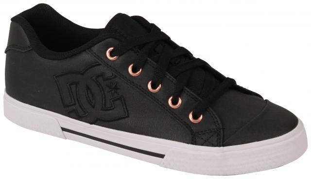 DC Women's Chelsea TX SE Shoe - Black / Black / White