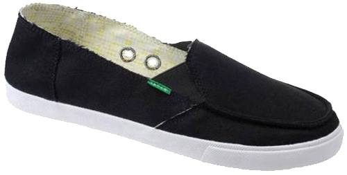 Sanuk June Bug Sidewalk Surfer - Black