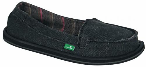 Sanuk Shorty Sidewalk Surfer - Black