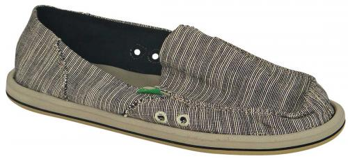 Sanuk Laurel Sidewalk Surfer - Black