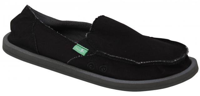 Sanuk Donna Daily Sidewalk Surfer - Black