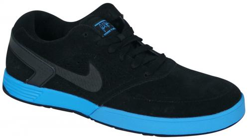Zoom for Nike Paul Rodriguez 6 Shoe - Black / Blue Glow