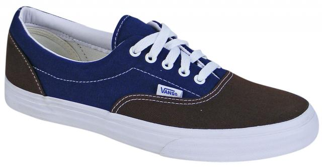 Vans Era Vintage Shoe - Brown / Estate Blue