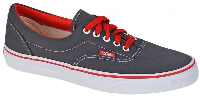 Zoom for Vans Era Shoe - Charcoal / Red