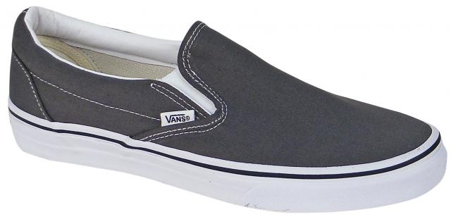 Vans Classic Slip On Shoe - Charcoal