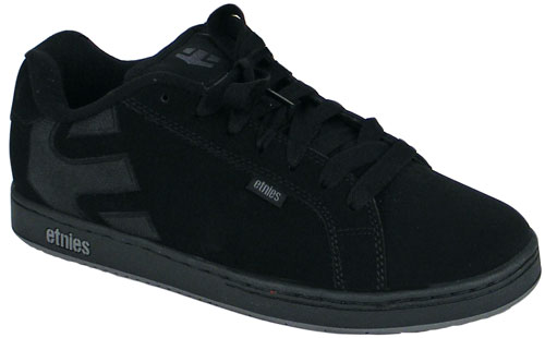 Zoom for Etnies Fader Shoe - Black / Charcoal