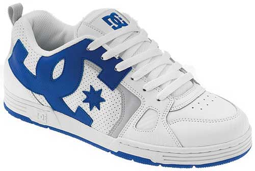 DC Major Shoe - White / Royal