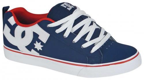 DC Court Vulc Shoe - Navy / Red ...