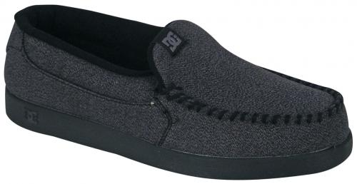 DC Villain TX Shoe - Black / Battleship / Black