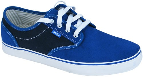 DVS Rico CT Shoe - Royal Suede / Black