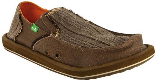 Sanuk Grifter Sidewalk Surfer - Brown