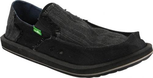 Sanuk Grifter Sidewalk Surfer - Charcoal / Black
