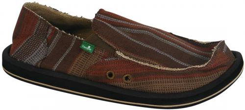 Sanuk Donny Sidewalk Surfer - Army / Brown