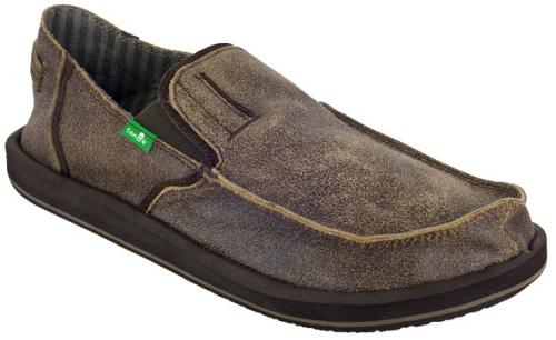 Sanuk Cruiser Sidewalk Surfer - Brown