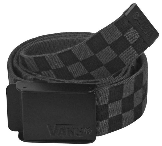 Vans Deppster Web Belt - Black / Charcoal