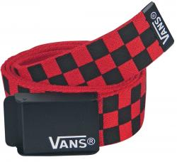 Vans Deppster Web Belt - Brand Red / Black