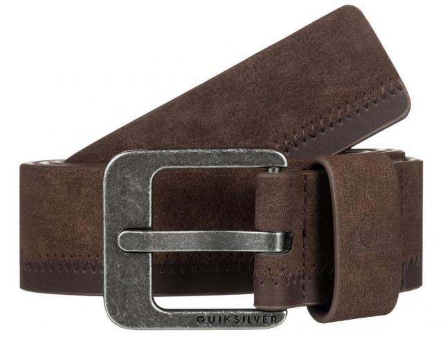 Quiksilver Binge II Faux Leather Belt - Demitasse