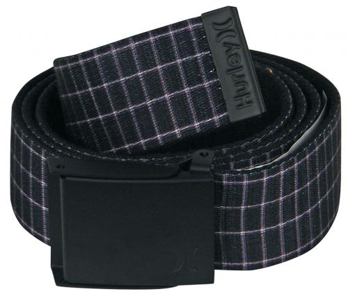 Hurley Honor Roll Web Belt - Puerto Rico Black