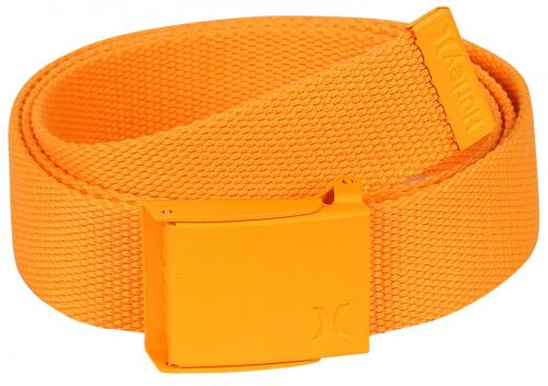 Hurley One and Only Web Belt - Neon Orange