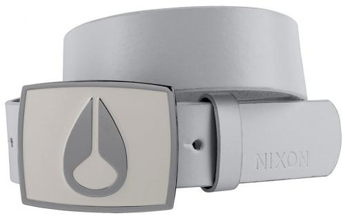Nixon Enamel Icon Belt - White