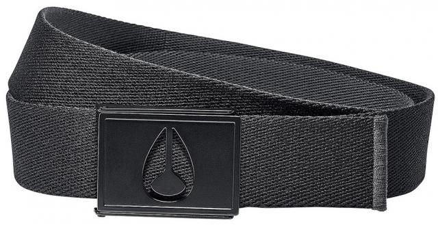 Nixon Spy Belt - Black / Anthracite