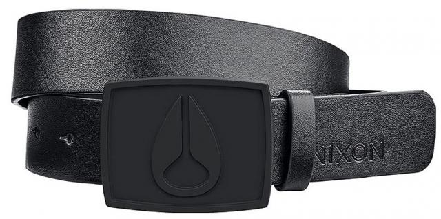 Nixon Enamel Icon II Belt - All Black