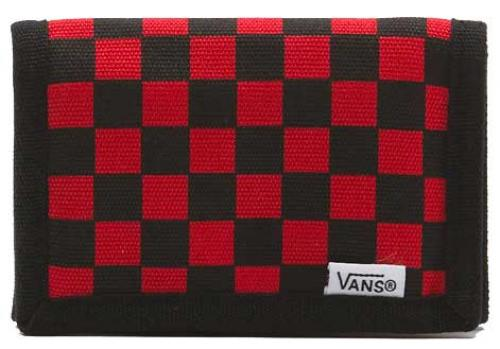 Vans Slipped 3F Wallet - Black / Red