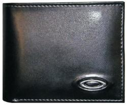 Oakley Small Leather Wallet - Black