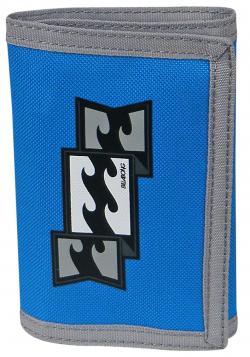 Billabong 3 Fold Wallet - Blue