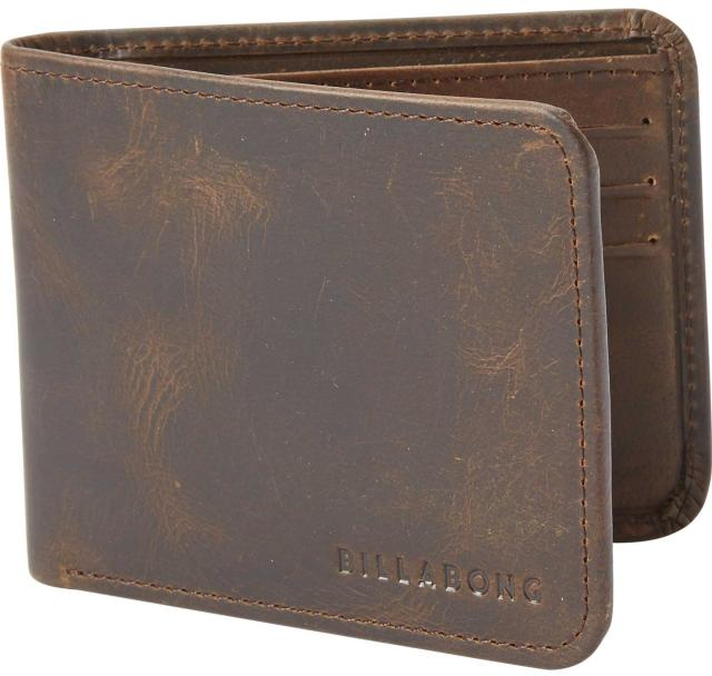 Billabong Slicker Slim Wallet - Chocolate