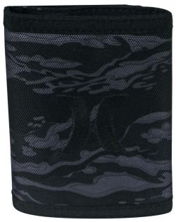 Hurley Honor Roll Trifold Wallet - Black Camo
