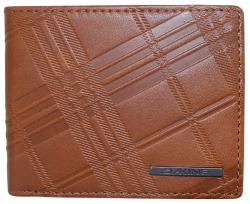 Dakine Agent Leather Wallet - Embossed Brown