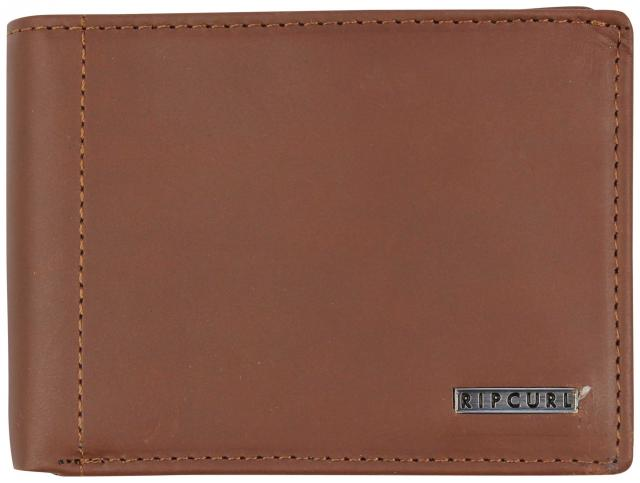 Rip Curl Futura All Day Leather Wallet - Brown