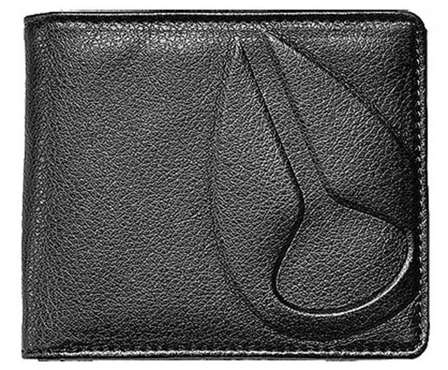 Nixon Haze Bi-fold Wallet - All Black