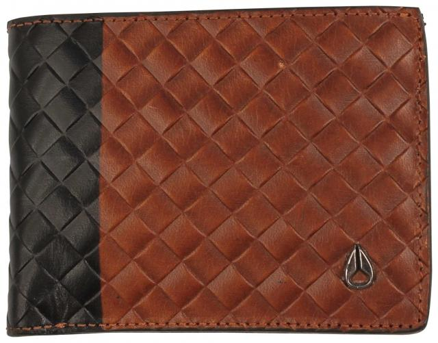 Nixon Cape SE Bi-fold Wallet - Black / Brown