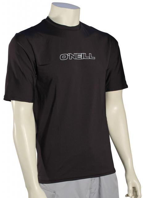 O'Neill Basic Skins SS Surf Shirt - Black