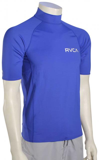 RVCA Solid SS Rash Guard - Surf