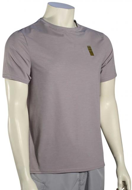 Depactus Eclipse SS Surf Shirt - Light Heather
