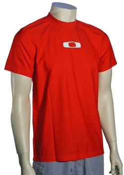 Oakley Square O Surf Shirt - Red Line